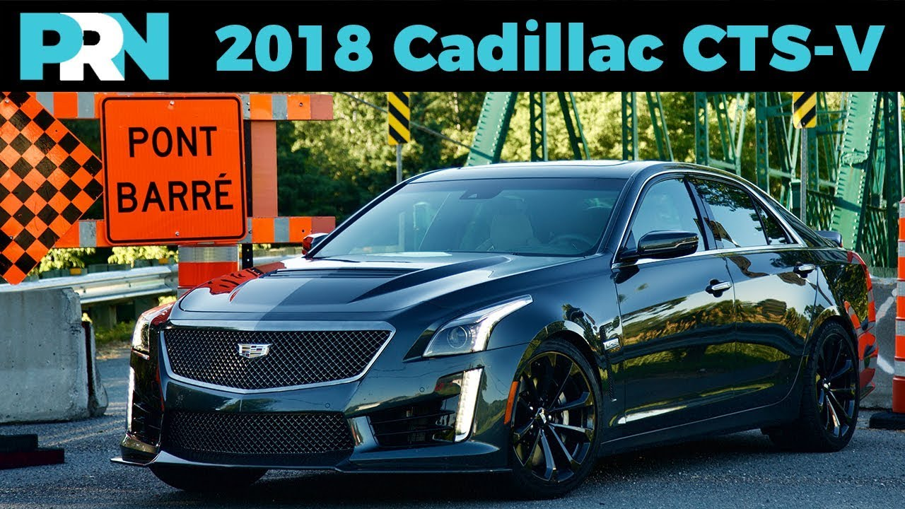4 Door Corvette 2018 Cadillac Cts V Testdrive Spotlight Youtube