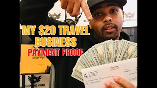 🔥🤯 My $20 Dollar Travel Business Paycheck Proof 😱