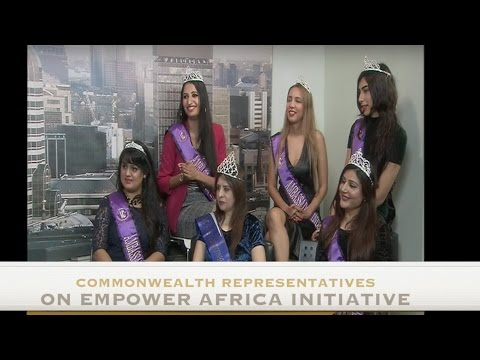 BREAKING:Commonwealth Queens on Empower Africa Initiative