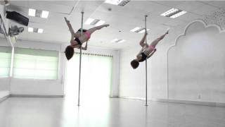Pole dancing classes for beginners STEP BY STEP ★