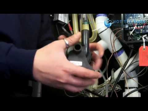 Jacuzzi Pump Wiring Diagram 1996 Kawasaki Bayou 300 Replacing A Hot Tub Circulation With Wayne Hitchcock - Youtube