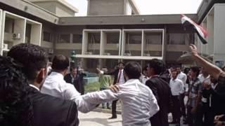 فضيحة كلية الاعلام - جامعة بغداد