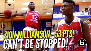 Zion Williamson 53 POINTS In Front of SOLD OU...