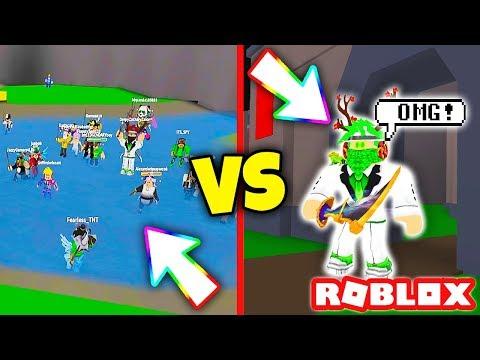 50 FANS VS ME!!! (Roblox Fan Battles) | Roblox