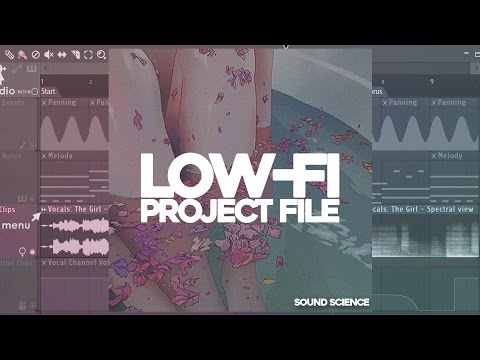 Lo-Fi Hip Hop Fl Studio 12 Project File and Samples 📼🔥