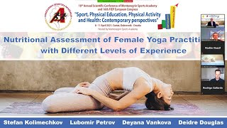 Nutritional assessment of female yoga practitioners (Dr Kolimechkov at the 2021 MSA-FIEP Conference)