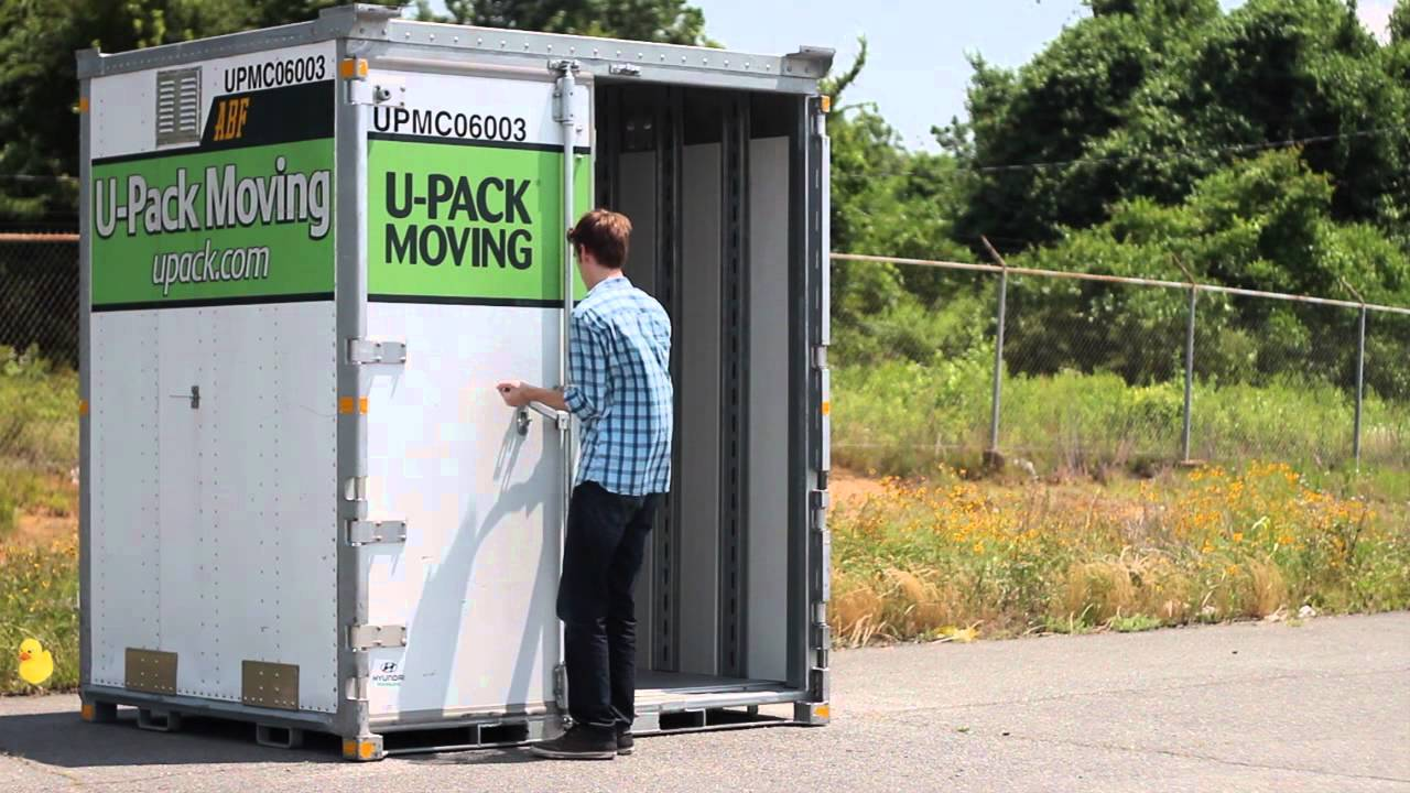 Upack Quote Best Moving Container The Relocube  Youtube