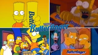 Only The Best The Simpsons Butterfinger Funny TV Classic Commercials 1988-2001