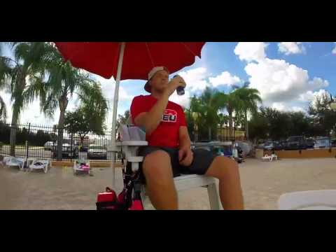 Red Bull Pool Sesh At Southeastern University 2k15 Youtube