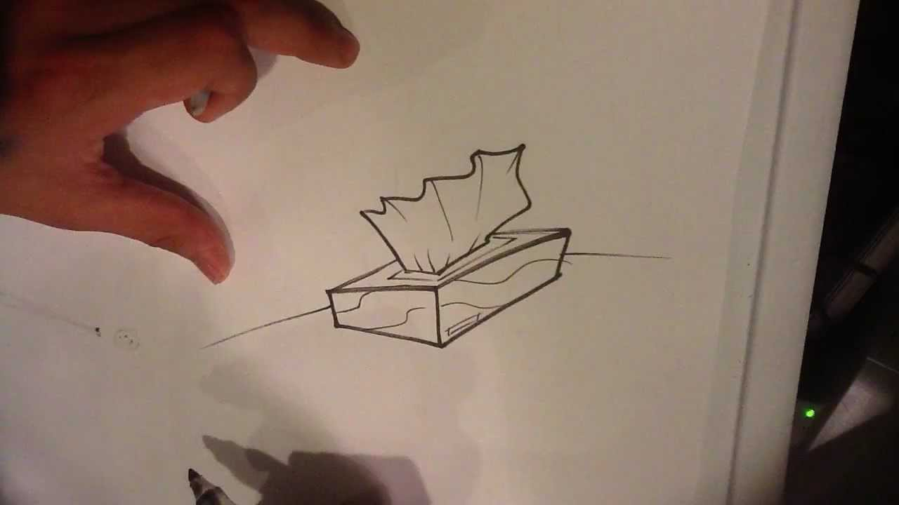 How to draw a tissue box easy things to draw youtube for Easy but good things to draw