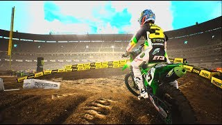 Supercross 2 - First Look Gameplay 2019 (PC HD) 1080p60fps