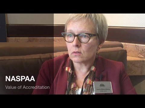 #NASPAA2016: The Value of Accreditation
