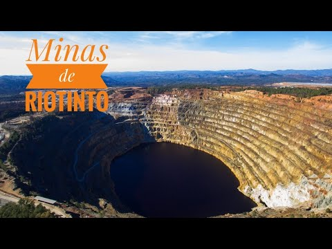 Minas de Riotinto (a vista de dron)