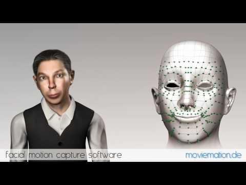 Moviemation Facial Motion Capture English