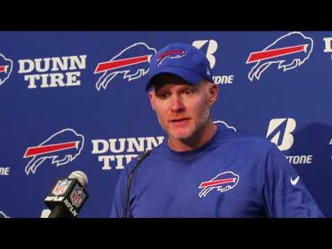 Buffalo Bills coach Sean McDermott on 9-3 loss to Carolina Panthers