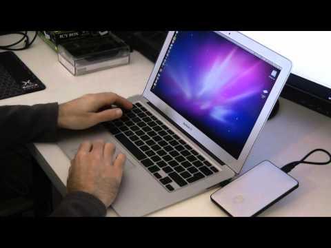 Apple MacBook Air 2010 Storage Upgrade 5 - G-Technology G-Drive Slim Hard Drive