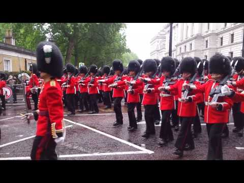 Trooping the Colour Rehearsal May 2015