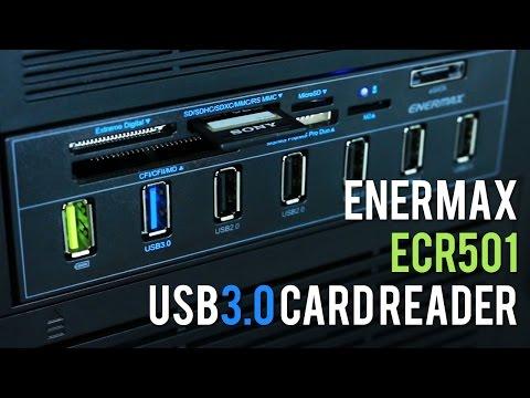 Enermax ECR501 USB 3.0 Card Reader - Unboxed & Tested