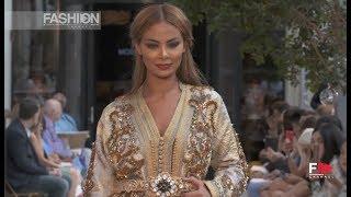 MOUNIA ADLOUNI Oriental Fashion Show | July 2018 Paris - Fashion Channel