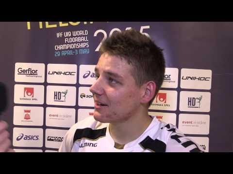 MU19 WFC 2015 – NOR v POL - Interview Filip Lukaszewski
