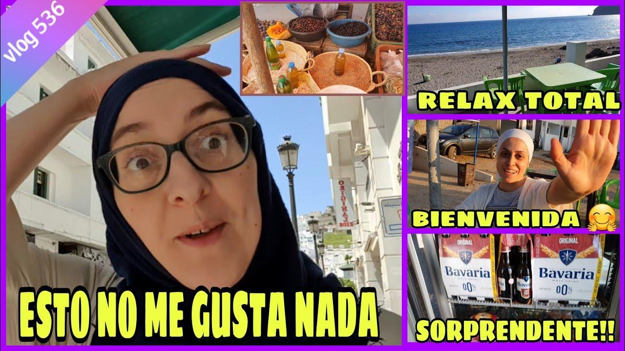 NO ES SITIO PARA MUJERES 😡 +  CONSUMEN CERVEZA? ME VISITA @De Granada a Tetuán + CLAUDIA SCHIFFER