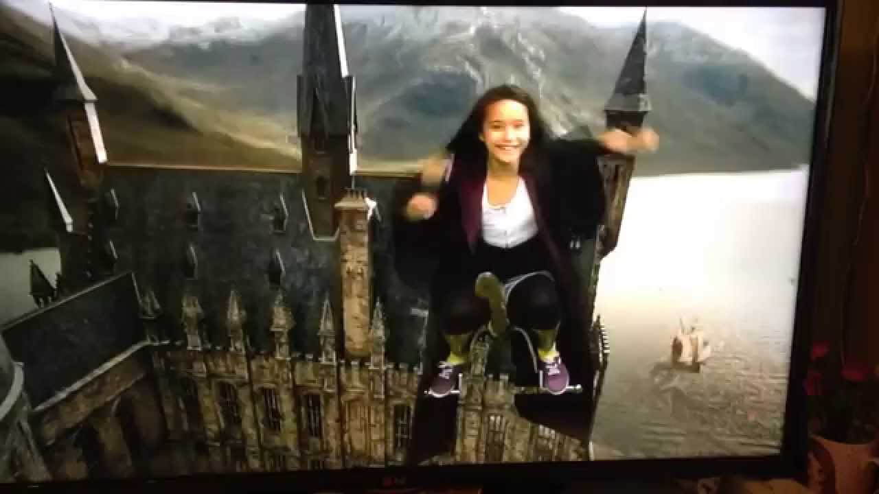 My Daughter On A Flying Broomstick Harry Potter Museum