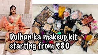 BRIDAL MAKEUP KIT LIST | Bridal Makeup Kit Under Rs. 1000 |Bridal Makeup Kit Me Kya Kya Hona Chahiye