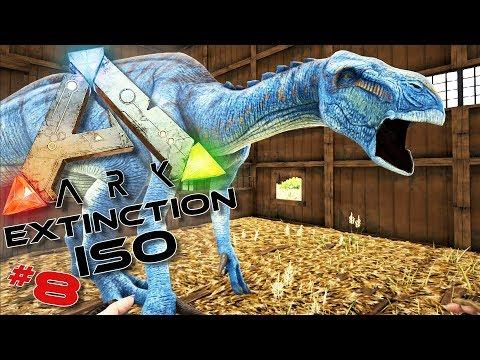 ARK ISO Extinction : Après le dino rose, le dino bleu ! #8