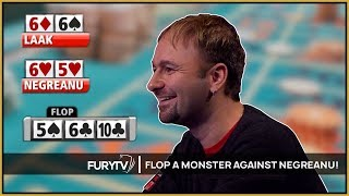 When you flop a MONSTER hand against Daniel Negreanu!