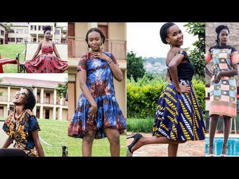 How to Slay Trendy African Prints| ELF Clothing Line| Uganda