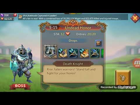 Lords Mobile Hero Stage Elite 5-15