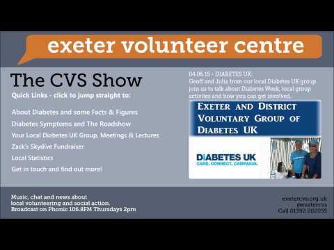 CVS Radio Show   Diabetes UK