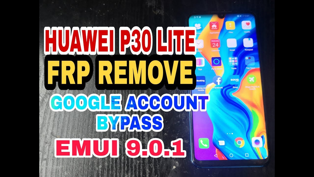 Huawei P30 lite (MAR-LX2) FRP Bypass EMUI 9 0 1 Android 9