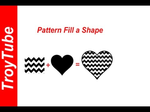 How to Pattern Fill an Image with Inkscape