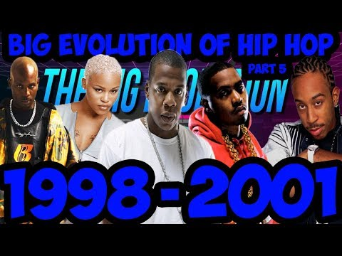 The Big Evolution Of Hip Hop Part 5 : The New Kings 1998-2001 (Timeline Fan Point Of View)
