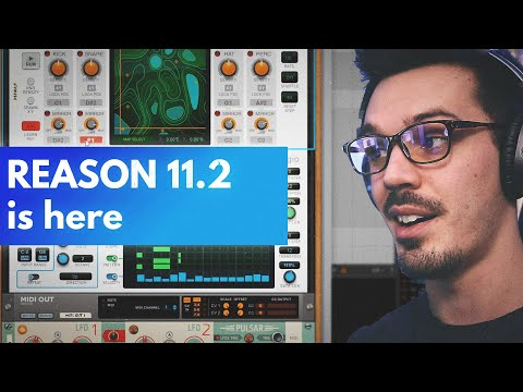 Reason 11.2 Update | Rack VST MIDI Out and Beatmap Explained + Tutorial