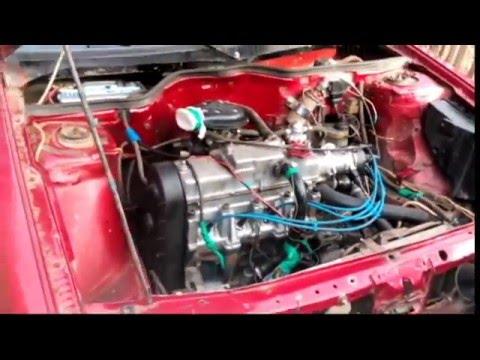 установка двигателя ВАЗ на рено