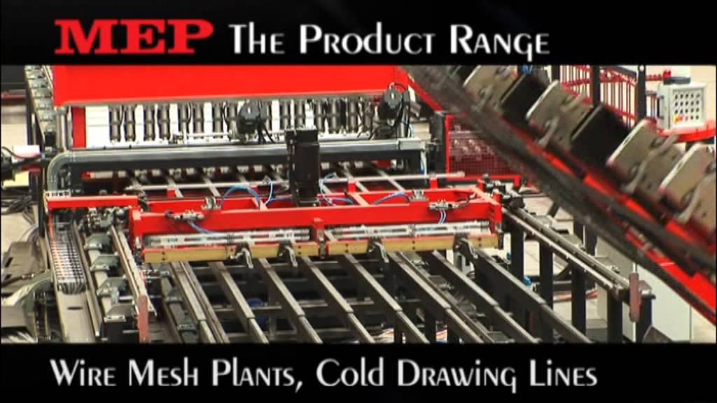 Mep Group Family Product Wire Mesh Plants Cold Drawing
