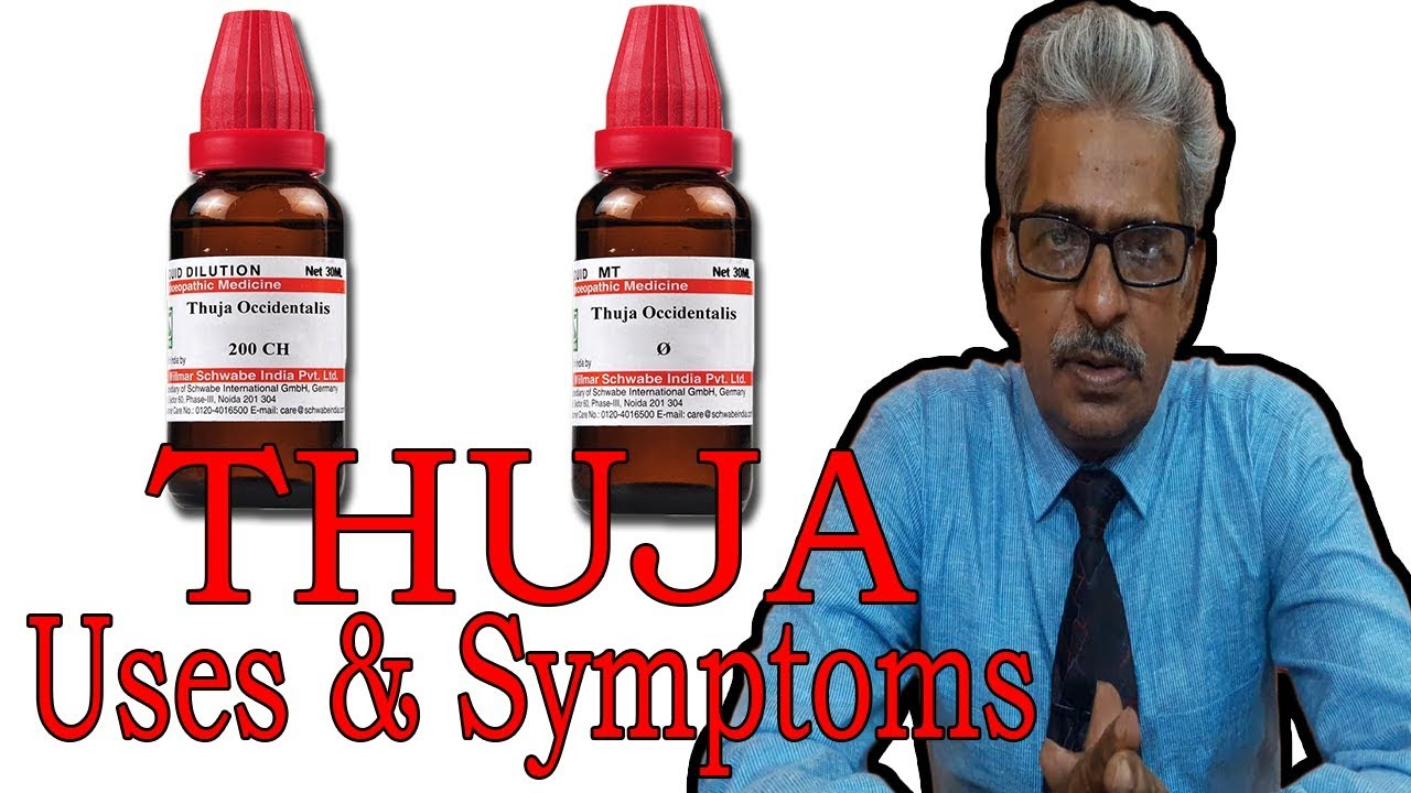 Thuja - Symptoms and Uses in Homeopathy by Dr P S  Tiwari