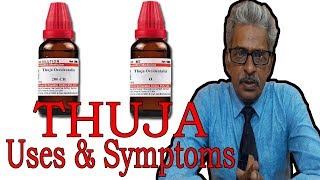 Thuja - Symptoms and Uses in Homeopathy by Dr P.S. Tiwari