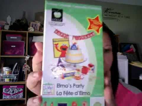 Elmo's Party Cricut Cartridge for Sale ~ Not linked to a Gypsy~
