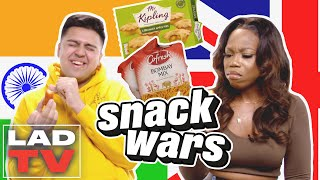 British vs Indian Snacks: Who Wins? | Snack Wars: Fight For Your Country | LADbible TV screenshot 5