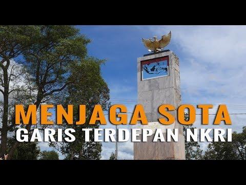 Ternyata Cuma Batu Ini Pembatas Indonesia dan Papua Nugini! Nggak Nyangka