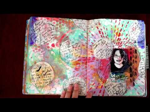Art Journal Walk Through