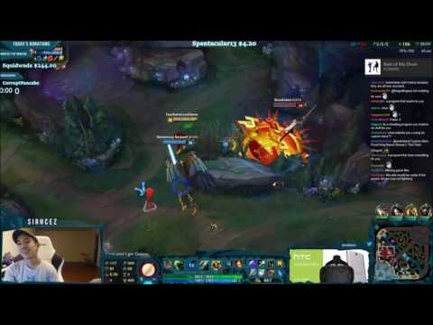 SirhcEz Singed vs Scripting Fiora : leagueoflegends
