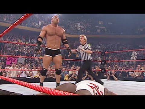 Goldberg vs. Mark Henry: Raw, Oct. 6, 2003