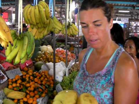 Raw Food & Fruit Shopping in Thailand