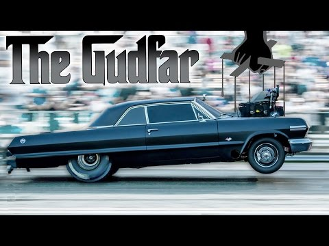 SCARY Blown Hemi Impala - The GUDFAR!