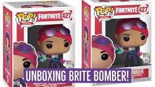 Funko Pop Vinyl Fortnite BRITE BOMBER Unboxing! Fortnite Battle Royale! Fortnite toy collectables!