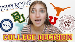 SURPRISING my Entire Family with My COLLEGE DECISION!